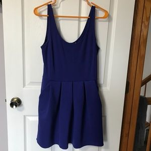 Aeropostale EUC blue pelted dress